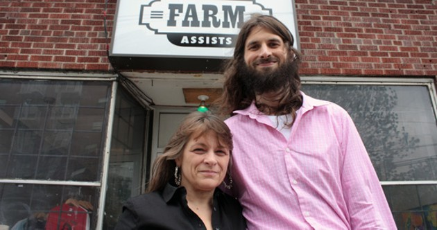 THC Cafe owners Sherri Reeve and Chris Enns. - HILARY BEAUMONT