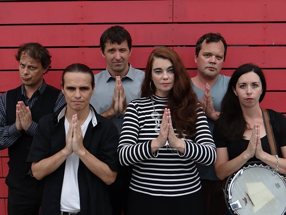 The angelic cast of Go to Hell - PHOTO: PHILIP AULENBACH