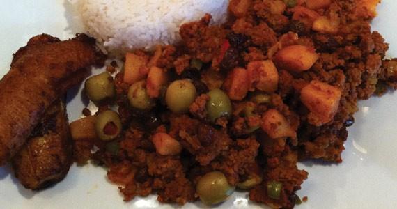 The beef Piccahillo a la Habanera is delicious. - KRISTEN PICKETT