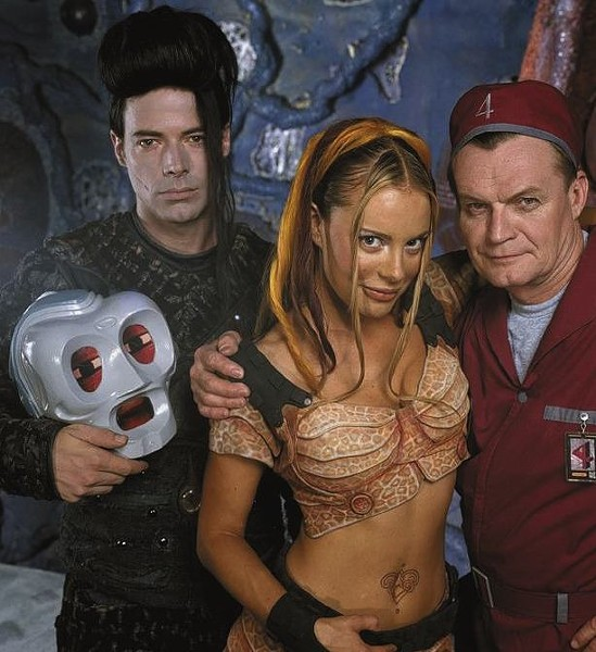 The cast of LEXX