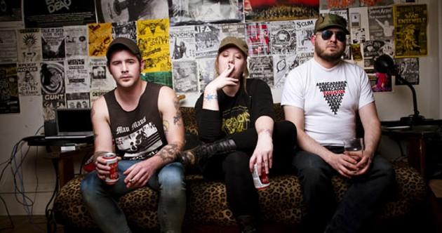 The Chitz return for one last punk fest. - JULÉ MALET-VEALE