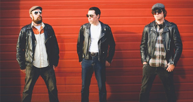 The Chris Martin Trio gets heated. - CHERAKEE STODDARD