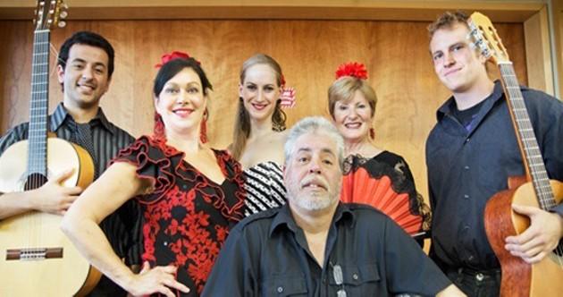 The fiery Viva Flamenco.