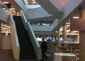 Inside the new library