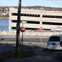 Newly constructed parking garage for Irving Shipyard blocks views, say residents