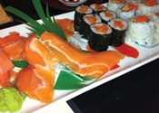 Sushi outshined