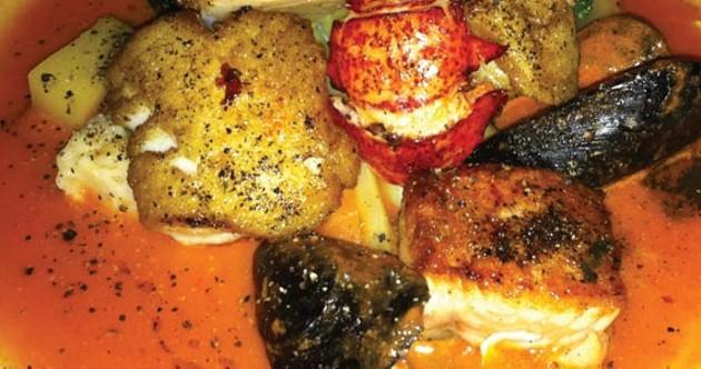 The seafood stew is a keeper. - KRISTEN PICKETT
