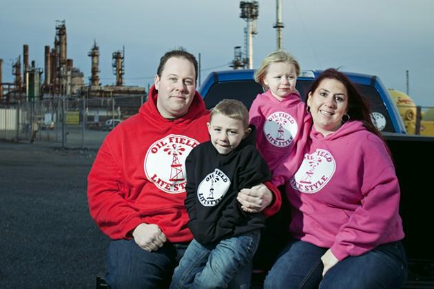 The Smith-Feener family together on Nova Scotia soil. - LENNY MULLINS