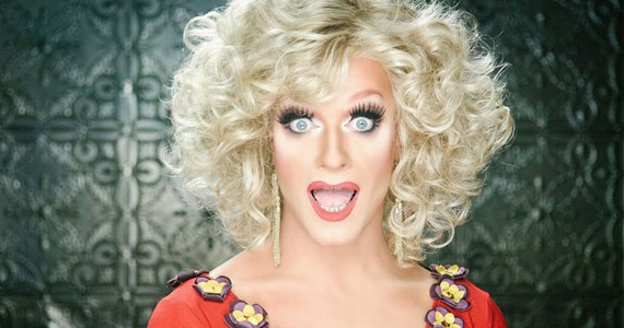 The stunning Panti Bliss. - CONOR HORGAN