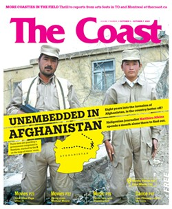 """The """"Unembedded in Afghanistan"""" cover story that earned Matthieu Aikins his second CAJ award."""