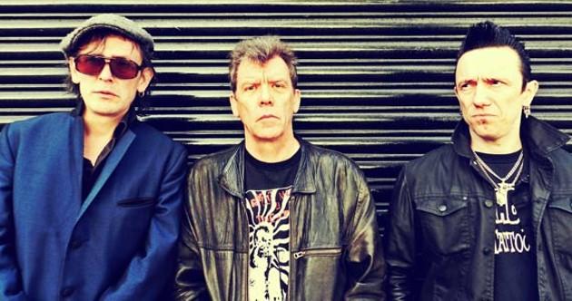 The Vibrators: Darrel Bath, Eddie, Pete. - NEUS RUIZ