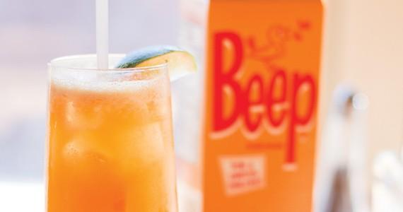 The Wooden Monkey's Beep drink. - MELISSA DUBÉ