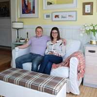 This must be the place: Homestyle bloggers Erin Trafford  & Dan Basquill's sunroom