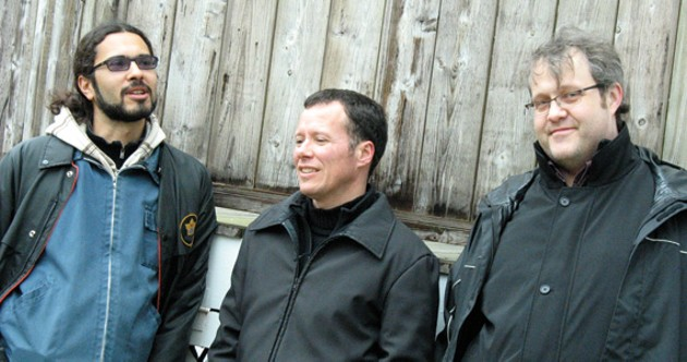 Tim Crofts, Norman Adams and Lukas Pearse make up the Crofts/Adams/Pearse trio.