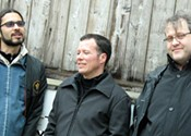 The Crofts/Adams/Pearse Trio channel the unknown