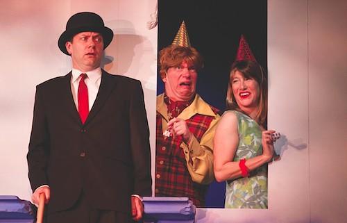 Tom Barnett, Murray Furrow and Jackie Torrens take a leap of faith.