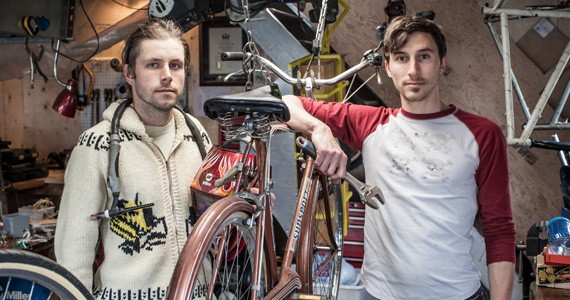 Tom MacDonald and Alex Tremblay want to get you hitching trailers to your back wheel - RILEY SMITH