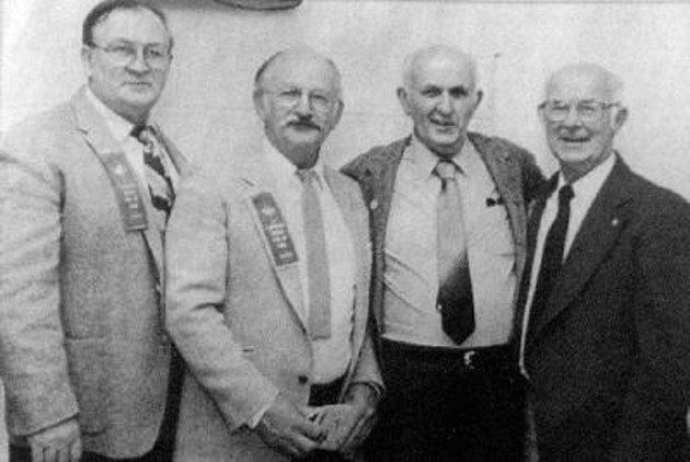 Tom McCluskey is second from the left.