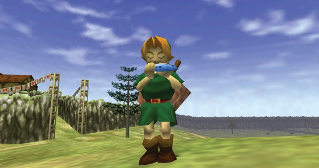 Toot your whatsit for Zelda: The Ocarina of Time, for the Nintendo 64!