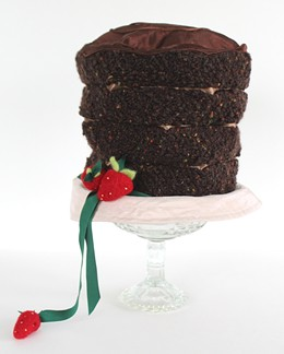 """Topper Chocolate Cake"" by June Cable"