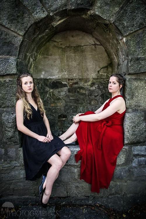 Tragic maids Holly Arsenault and Maggie Hammel