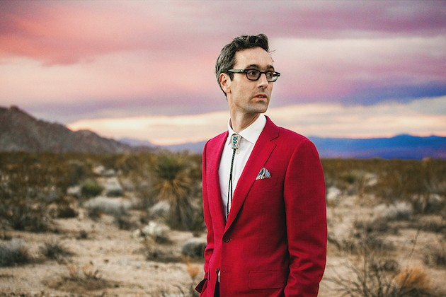 David Myles tries on Buddy Holly stylings with his latest effort, Real Love (see 3). - MAT DUNLAP