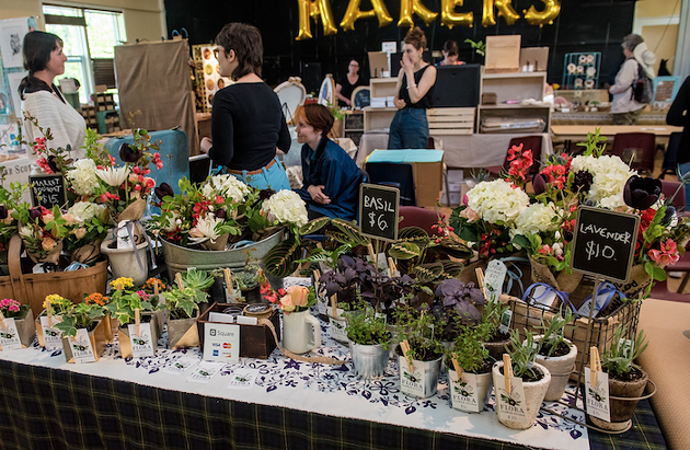 The Dartmouth Makers celebrate winter's arrival with an epic market (see 2). - STOO METZ PHOTO
