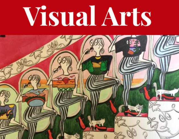 Danika Vandersteen blends cartoon with Rococo in her show at Eyelevel Gallery's new digs. - DANIKA VANDERSTEEN ARTWORK