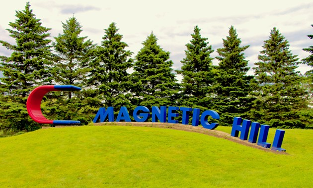 Magnetic Hill, New Brunswick - SUBMITTED