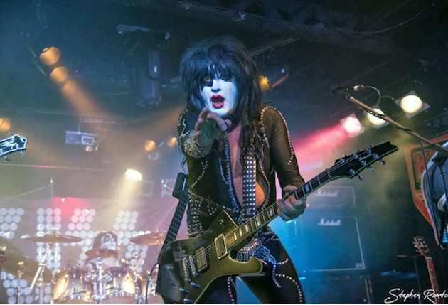 KISS tribute act Dressed 2 Kill lights up The Seahorse Friday. - STEPHEN RUXTON PHOTO