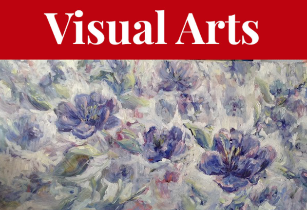 Bev Hubley makes a case for floral-focused paintings with her Art 1274 Hollis show, Flowers are Gems Too. - BEV HUBLEY ARTWORK