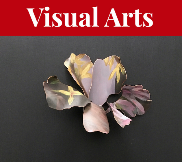 A show merging art and craft—and inspired by a flower press from childhood—blooms at the Mary E. Black gallery. - K. CLAIRE MACDONALD ARTWORK