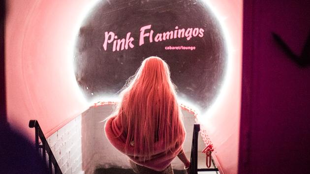 Pink Flamingos Cabaret/Lounge. - SUBMITTED
