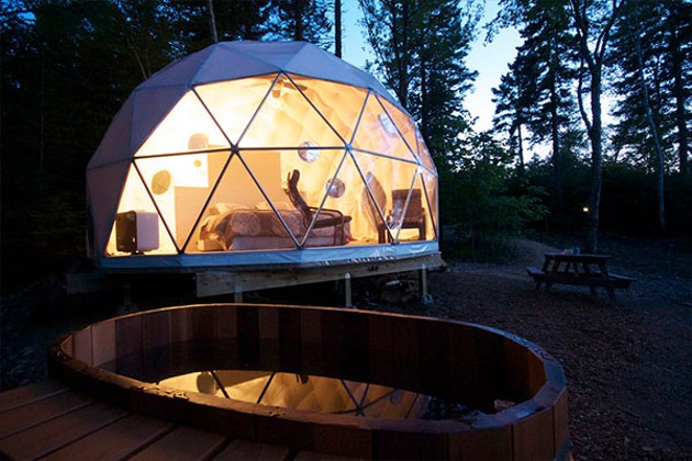Dream Dome at Ridgeback Lodge - SUBMITTED