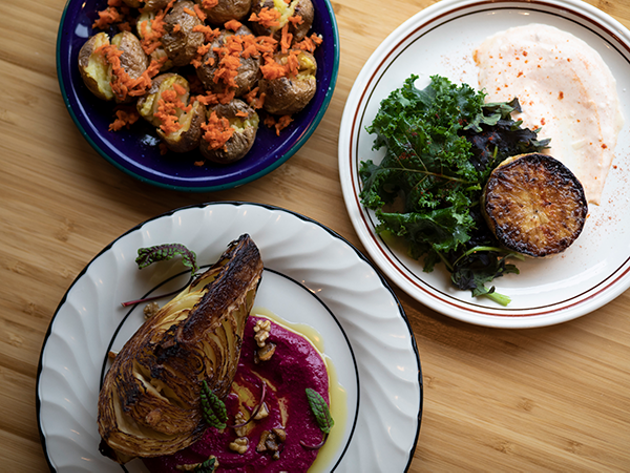 """Lea's dishes get to the """"providence of the - ingredients."""" - RACHEL MCGRATH"""
