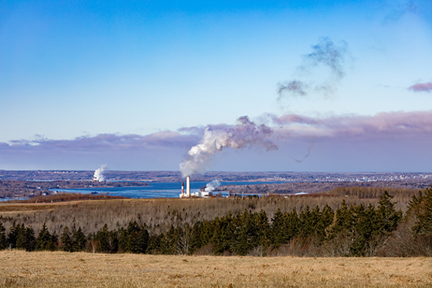 A coal power plant in Pictou County. - FILE