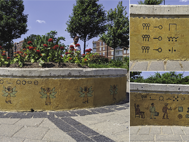 Nelligan's work can be found at the Halifax Common plaza at North Park and Cunard Streets. - THE COAST