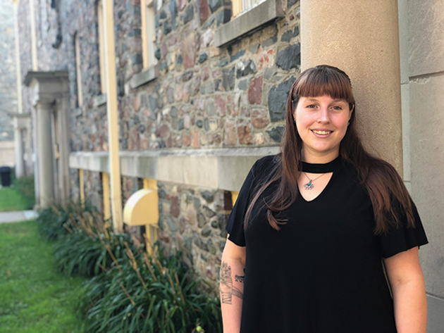Jordan Roberts is the newly appointed sexualized violence prevention and response officer at the University of King's College. - ALLISON DELORY