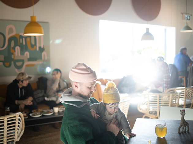 North Brewing cultivates a sense of community and welcome, putting playfulness above coolness. - RILEY SMITH