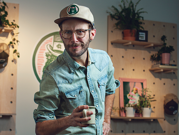 Drew Voegeli is your friendly neighbourhood restaurateur at the re-imagined Cheeky Neighbour. - LENNY MULLINS