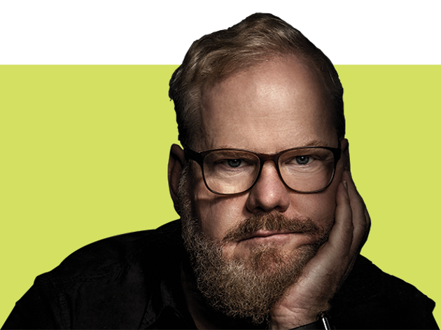 Jim Gaffigan says the donair is what brought him back to Halifax for his January 16 show. - ROBYN VAN SWANK