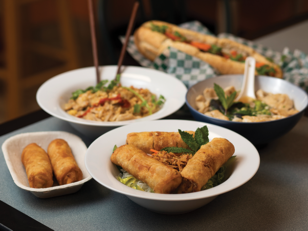 Dzung Do says her restaurant Just Spring Roll has given her a sense of creative freedom by showcasing Southeast Asian staples like spring rolls, pad thai, vietnamese soup and bahn mi. - RACHEL MCGRATH