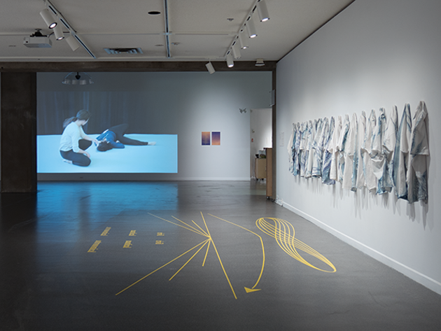 "Lou Sheppard, ""Crepuscular Rhythms"" and ""Pas de deux"" (installation view). - DALHOUSIE ART GALLERY"