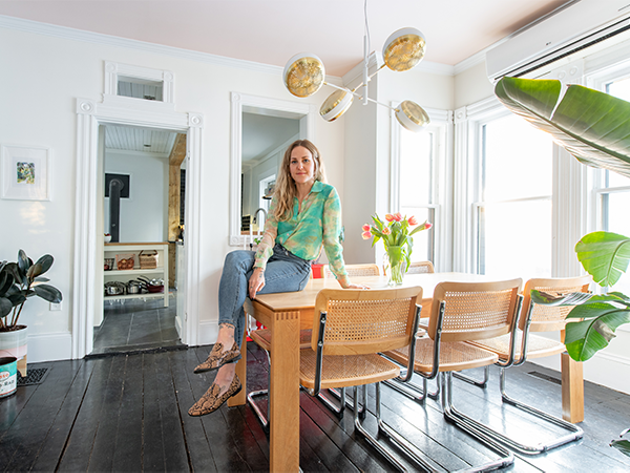 The dining room is the heart of Robyn Manning's home, with great light and sight lines to other rooms. - RYAN WILLIAMS