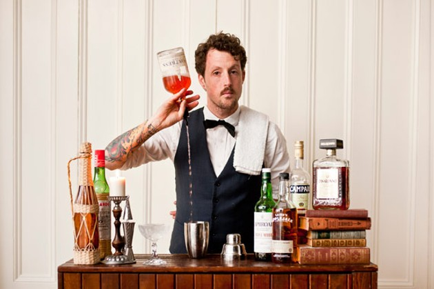Shane Beehan is one of 10 bartenders competing in the World Class Canadian finals. - KRISTA COMEAU
