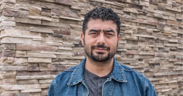 Mahmoud Alkhatib is already a neurosurgeon but can't practice in Canada. - SAMSON LEARN