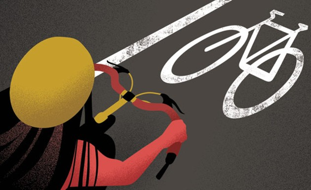 Bike brouhaha. - AZIZA ASAT
