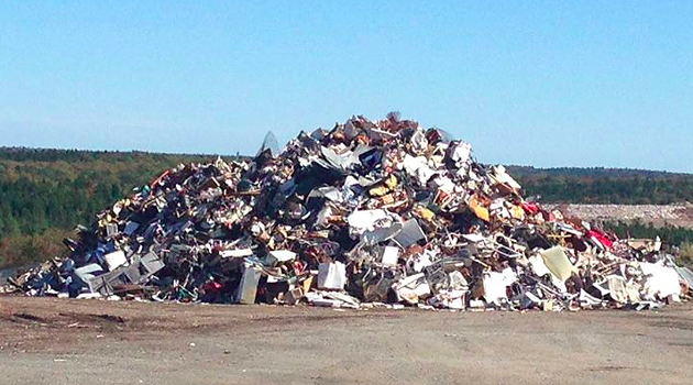 The landfill near to Lincolnville, NS. - VIA ENRICH ON FACEBOOK.