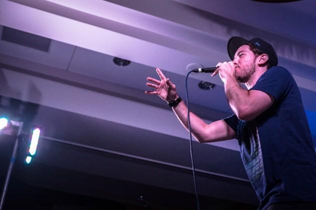 """I love my punchlines,"" says Wordburglar. - JAMES WHITE/DAVE HOWLETT (ALBUM), COURTESY OF ARTIST (LIVE)"