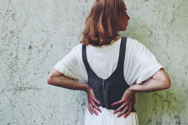 Maggie MacCormick's duds and Sarah Sears' jewels - VIA FACEBOOK